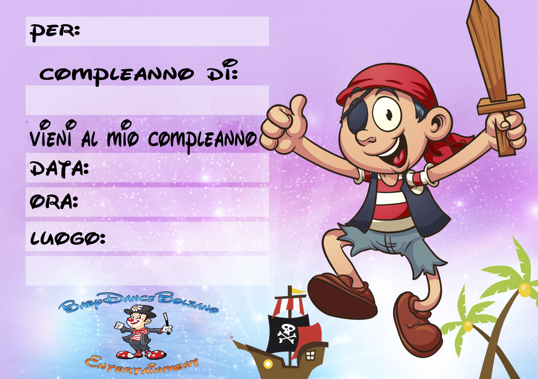 Favorito INVITI COMPLEANNO BAMBINI | Animazione bambini GP29