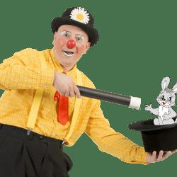 clown e magia