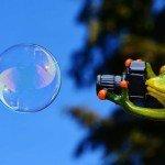magia delle bolle
