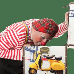 animazione per bambini clown