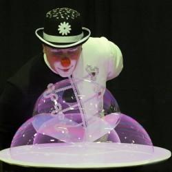 bolle con clown